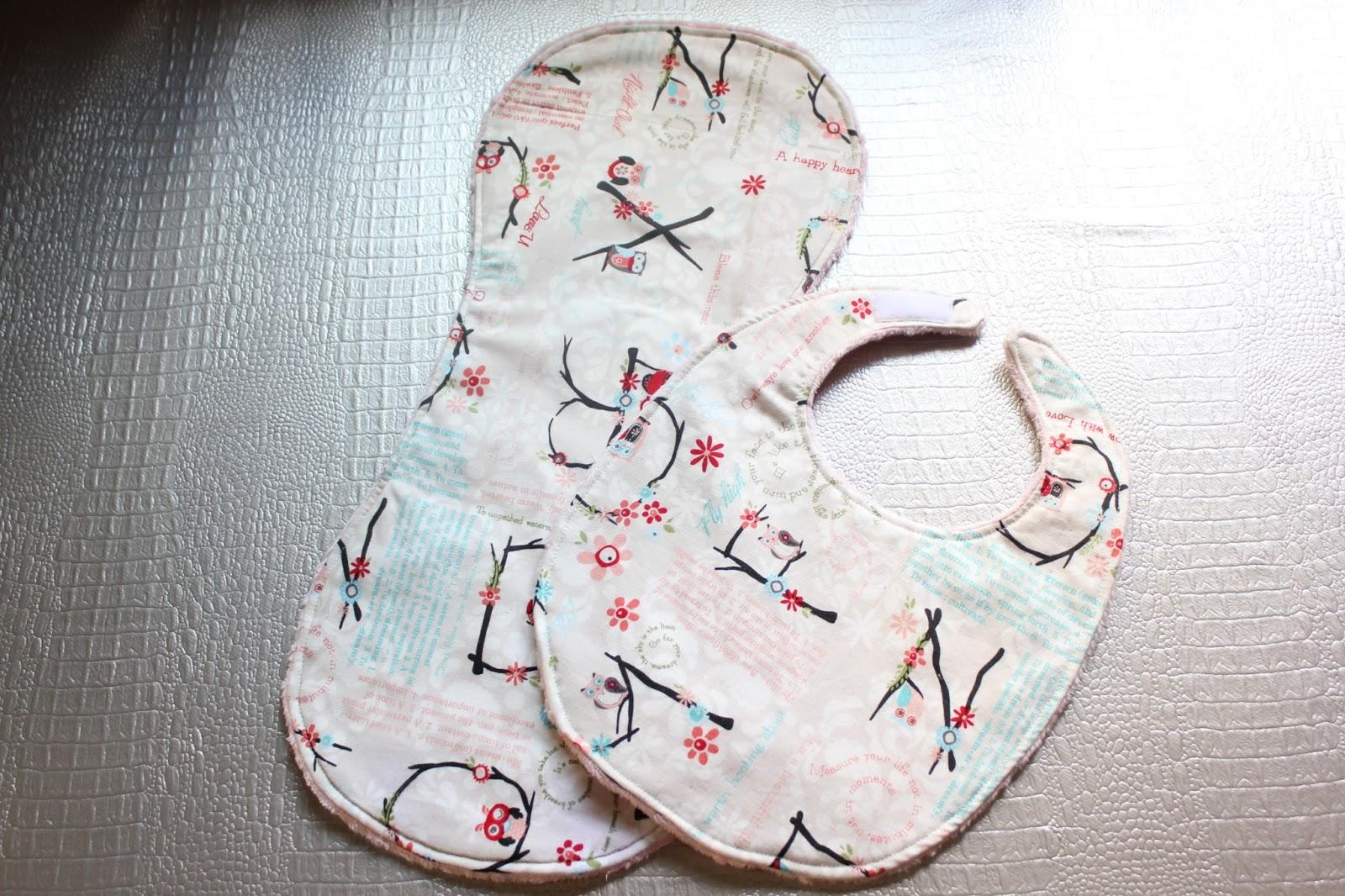 DIY: Cómo hacer baberos con tela minky - Handbox Craft Lovers ...