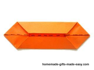 origami de flores de dinero