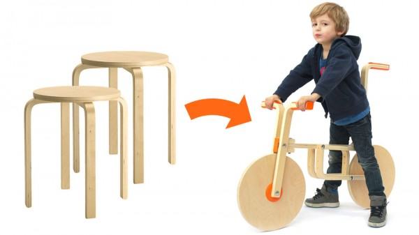 DIY bici sin pedales ikeahack