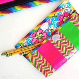 Duck Tape Pencil Case