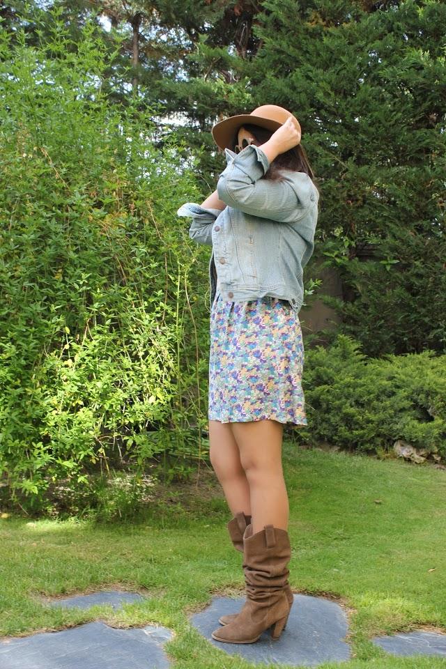DIY Ropa Como hacer un vestido con patrón sin mangas.