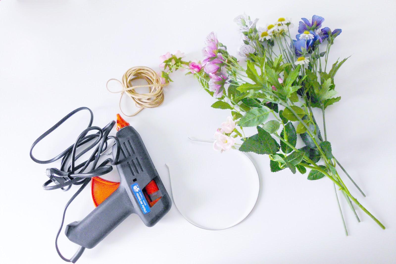 kilika hecho a mano como hacer una corona de flores