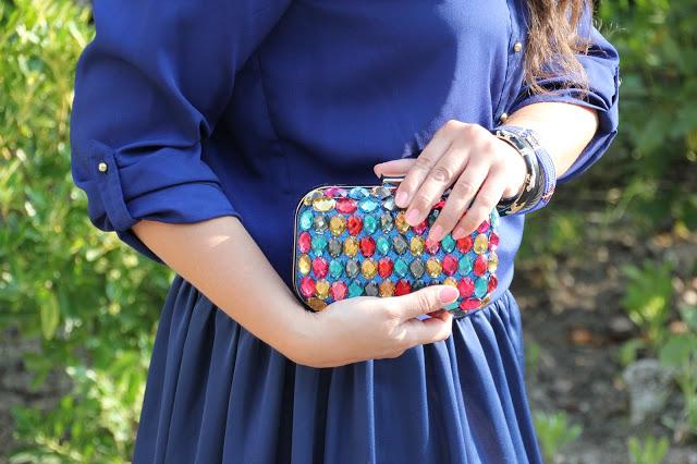 DIY Cómo hacer bolso joya / DIY Jewelry clutch