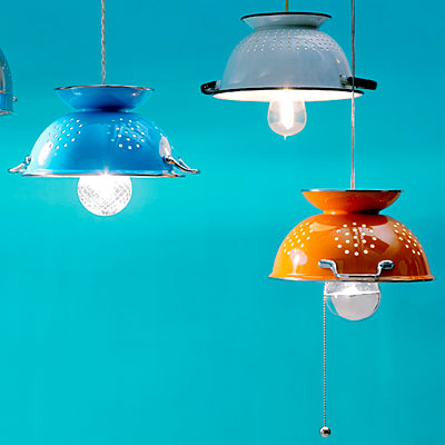 Colander kitchen light