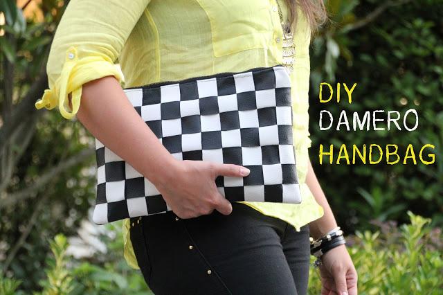 DIY Cómo Hacer Bolso DAMERO / DIY DAMERO Bag