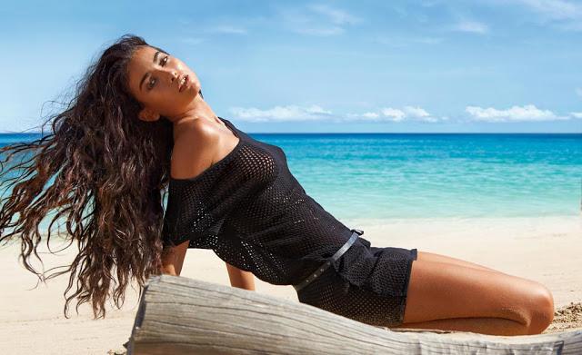 Vestido veraniego para la playa muy fácil (patrón gratis)
