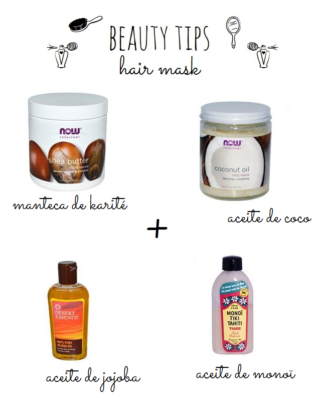 karite-hair-mask-diy-diyearte-handmade-monoi-jojoba-shea-butter-coconut-oil-beauty-tips-belleza-mascarilla-pelo-casera