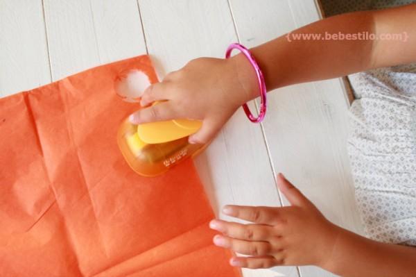 DIY confeti papel seda