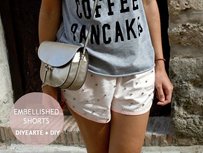 embellished-shorts-diy-diyearte-handmade-rhinestones-sparkles-fancy-pantalones-brillantes