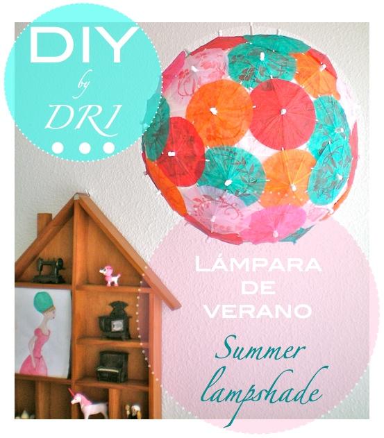 DRI summer lampshade - lampara de verano