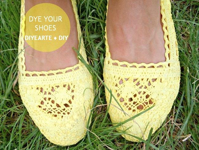 dye-shoes-flats-crochet-diy-diyearte-handmade-yellow-toms-tintar-slippers-zapatos-zapatillas-ganchillo