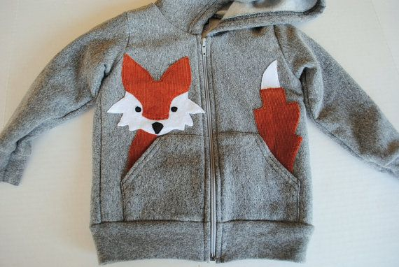 fox in the pocket - there is also a kitty version