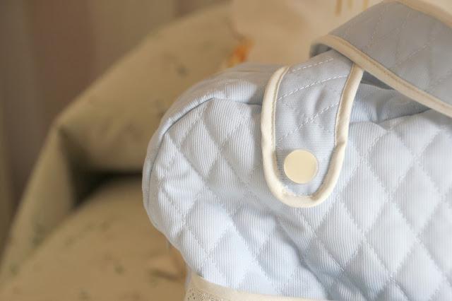 DIY Bebé: Cómo hacer una bolsa para pañales