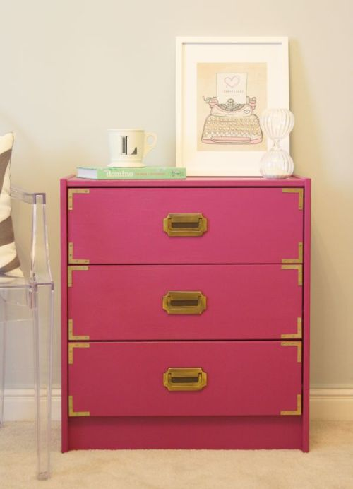 DIY Fuschia Campaign Chest 500 DIY: Campaign Chest
