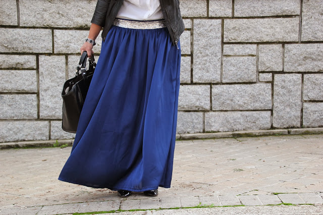 DIY Costura Maxi Falda. Blog de costura y diy.