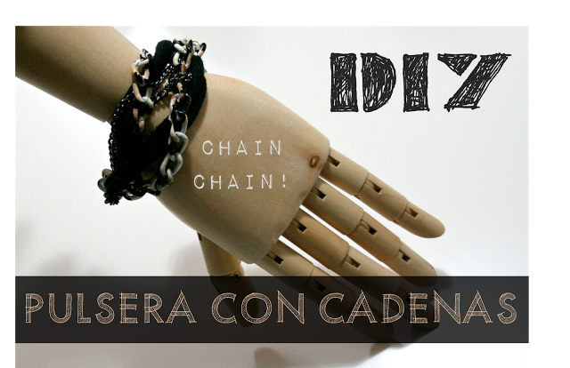 DIY:Pulsera con cadenas