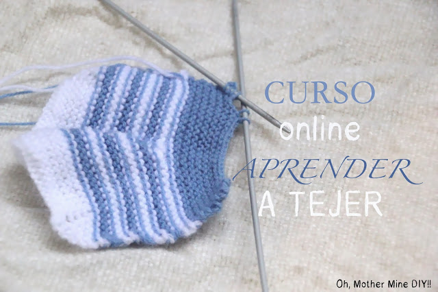 Curso online gratis aprender a tejer. Blog diy y costura
