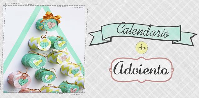 Calendario de Adviento by Mummy and Annie