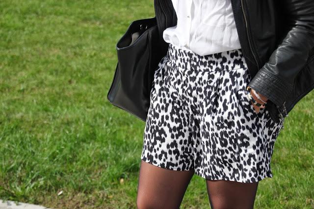 DIY Como hacer y coser print shorts con bolsillos (patrón gratis tallas 34 - 44)
