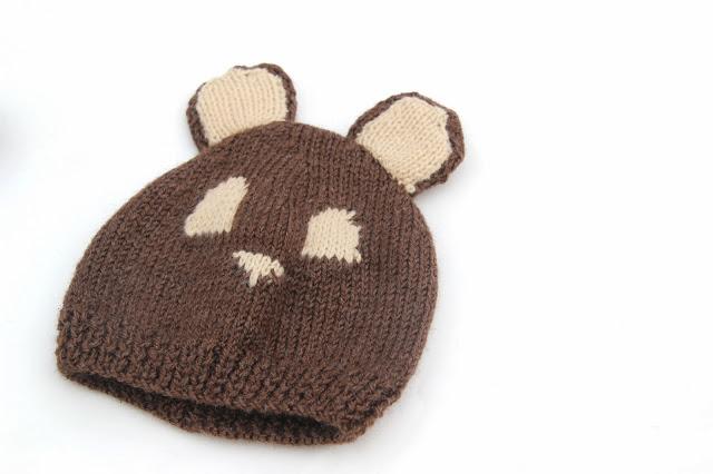 DIY Cómo hacer gorro de lana con orejas