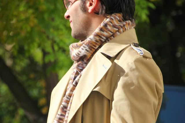 DIY Cómo tejer una bufanda de hombre para regalas estas Navidades