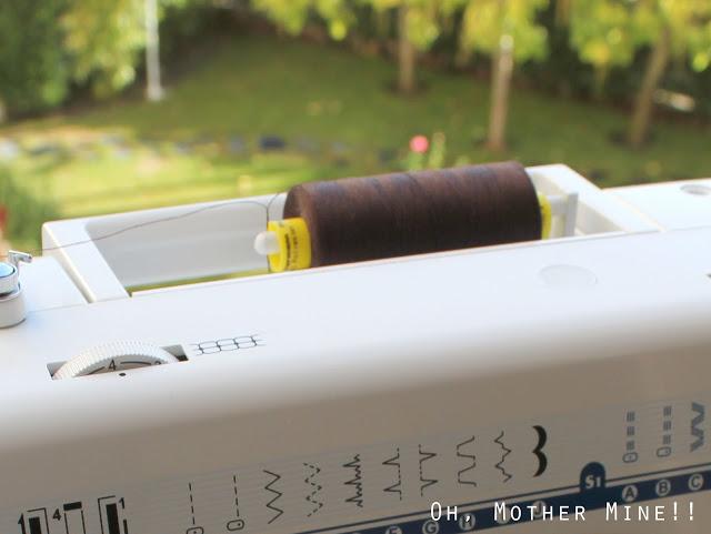 Aprender a coser a máquina. Parte 1: los elementos de la máquina de coser.