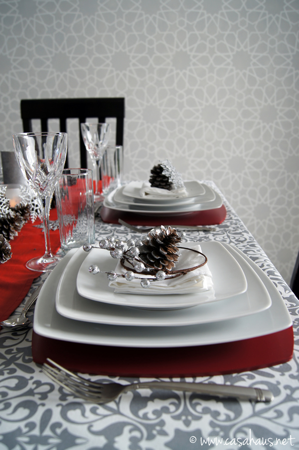 mesa navidad casahaus