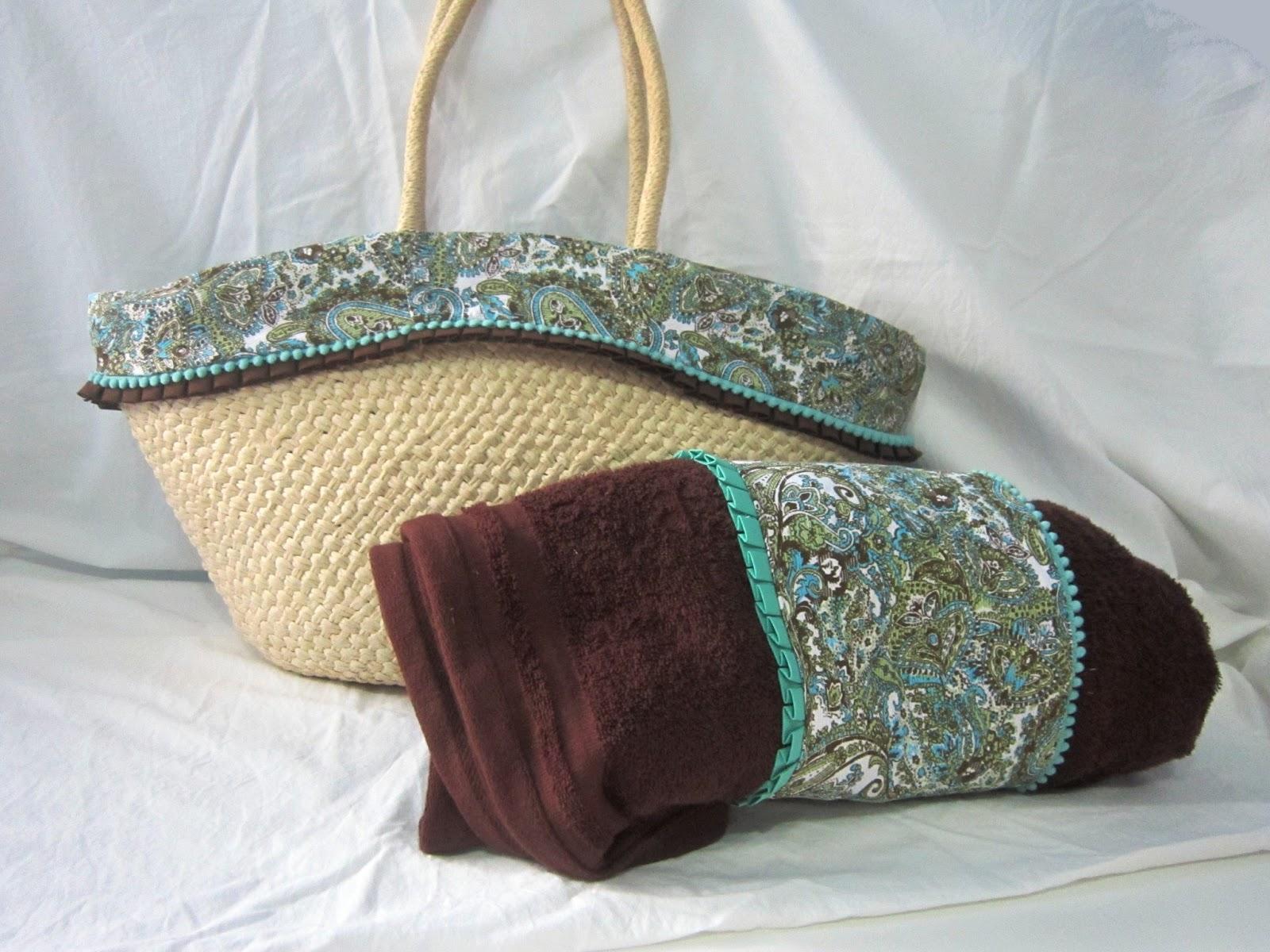 DIY: Conjunto capazo y toalla de playa - Handbox Craft Lovers ...