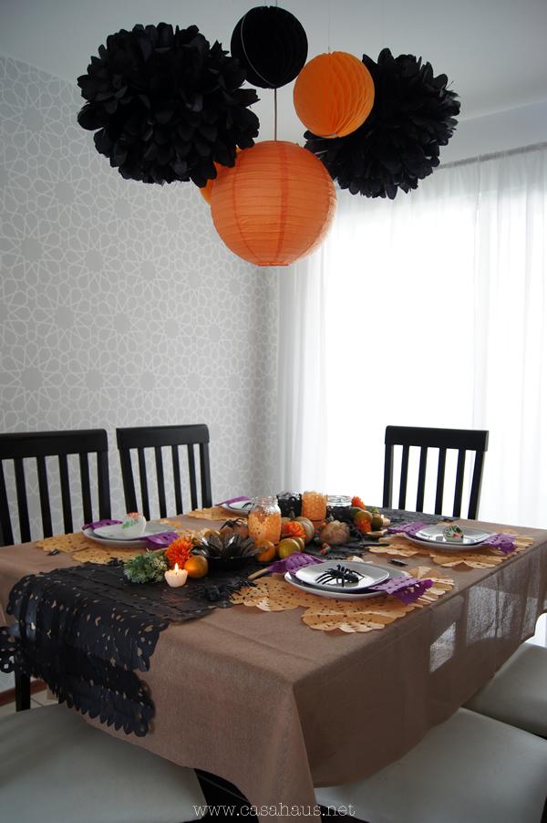 mesa halloween y día de muertos | Casa Haus