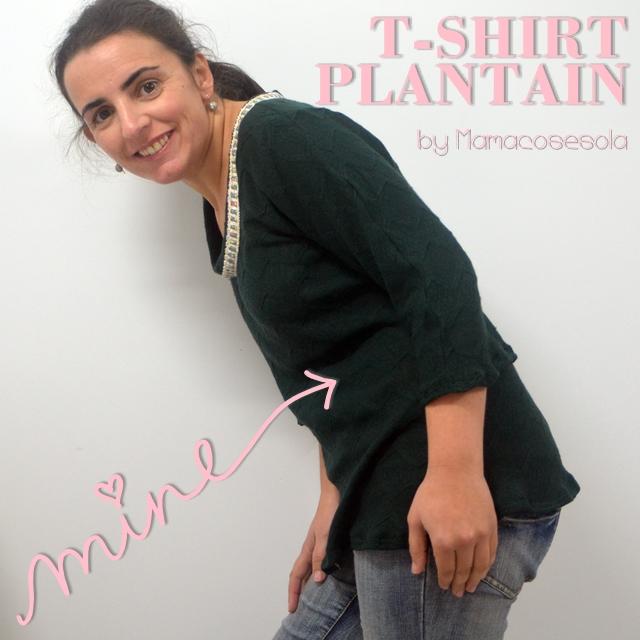 t-shirt plantain mamacosesola