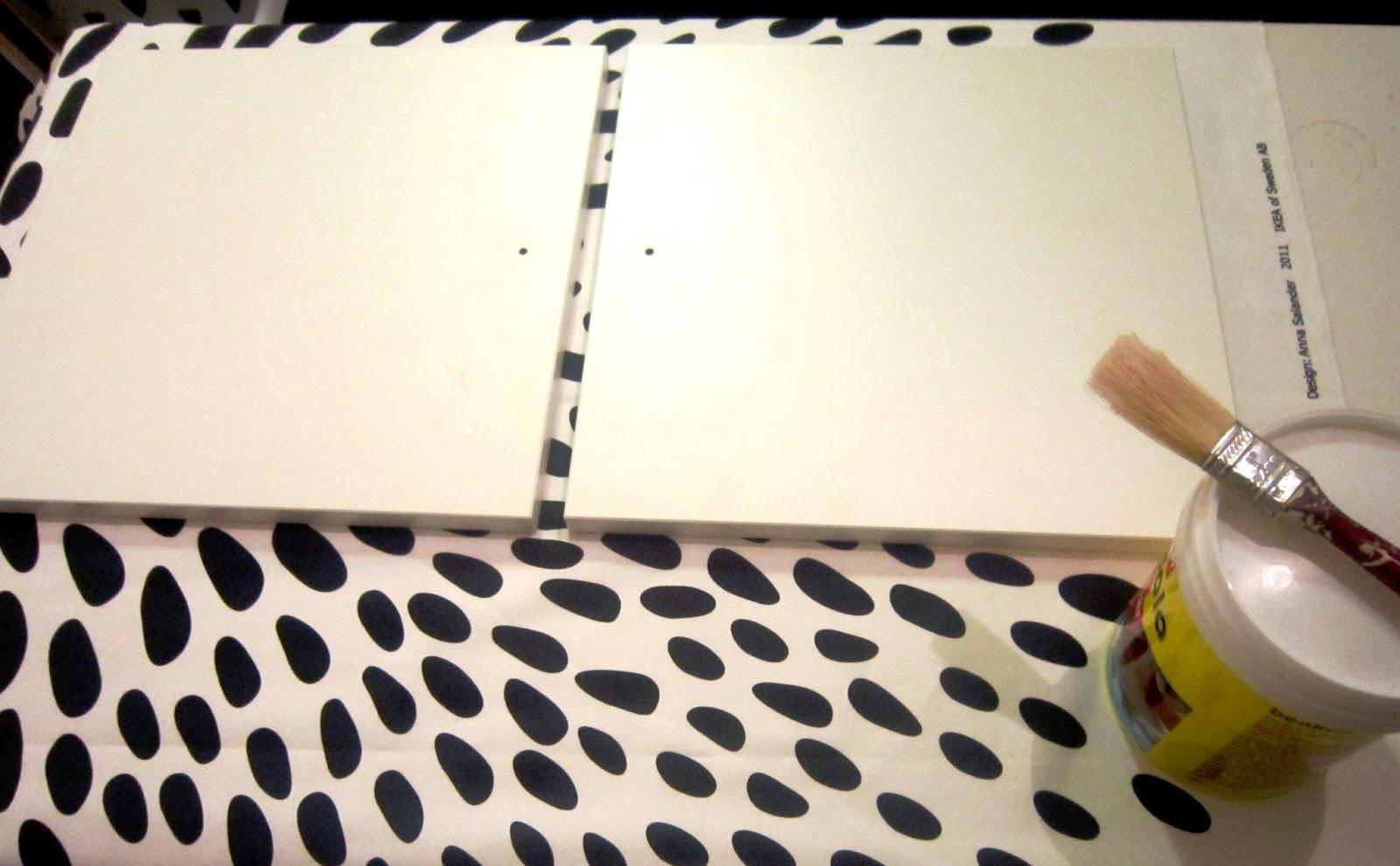 Personalizar mueble IKEA con tela - HANDBOX