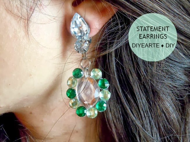 jewelry-earrings-statement-sparkle-rhinestones-diy-diyearte-fancy-handmade-pendientes-brillantes-llamativos-hazlo-tu-mismo