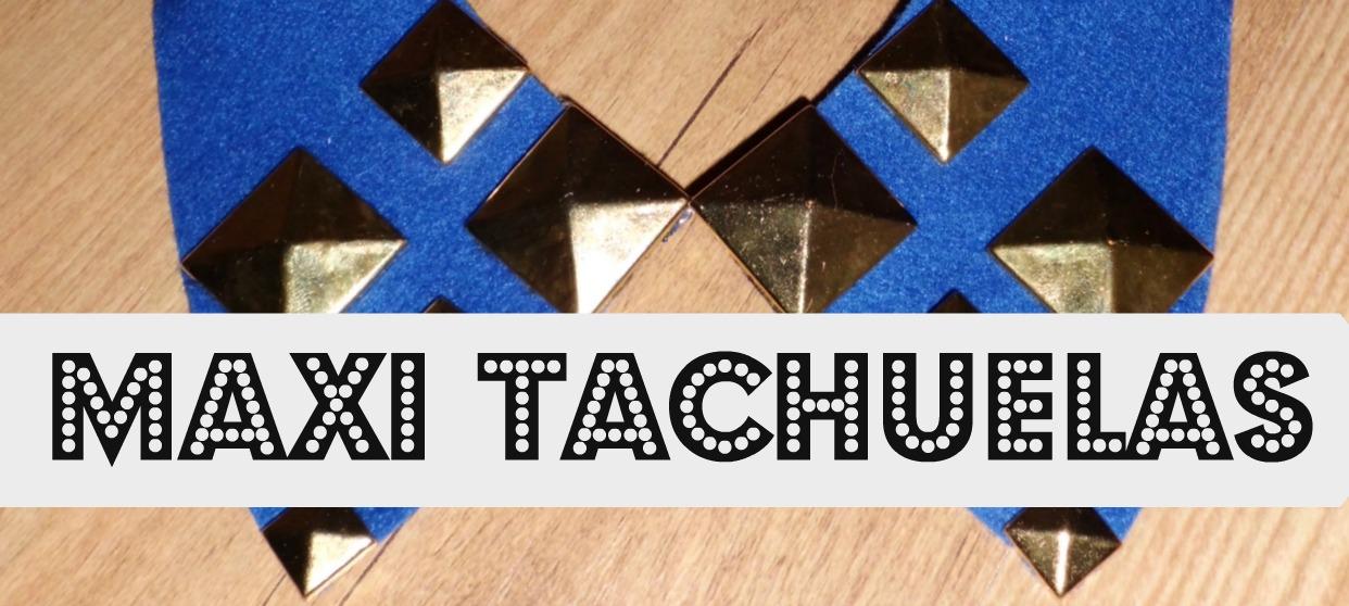 video tutorial de como hacer tu misma facil y barato un collar com maxi tachuelas impresionante