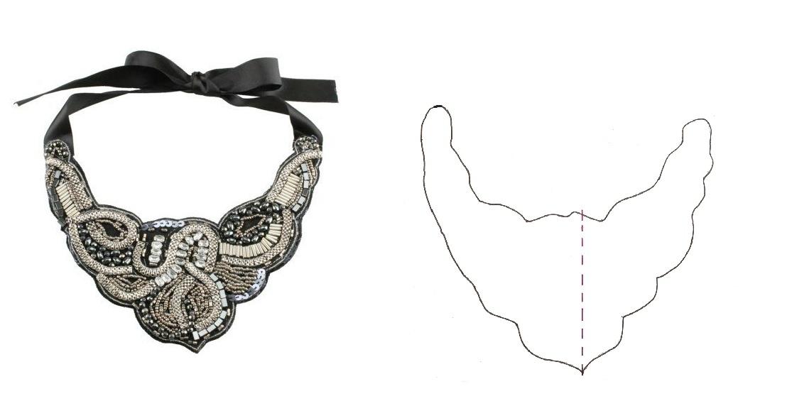 Top 6 patrones collar babero descargables - Handbox Craft Lovers ...