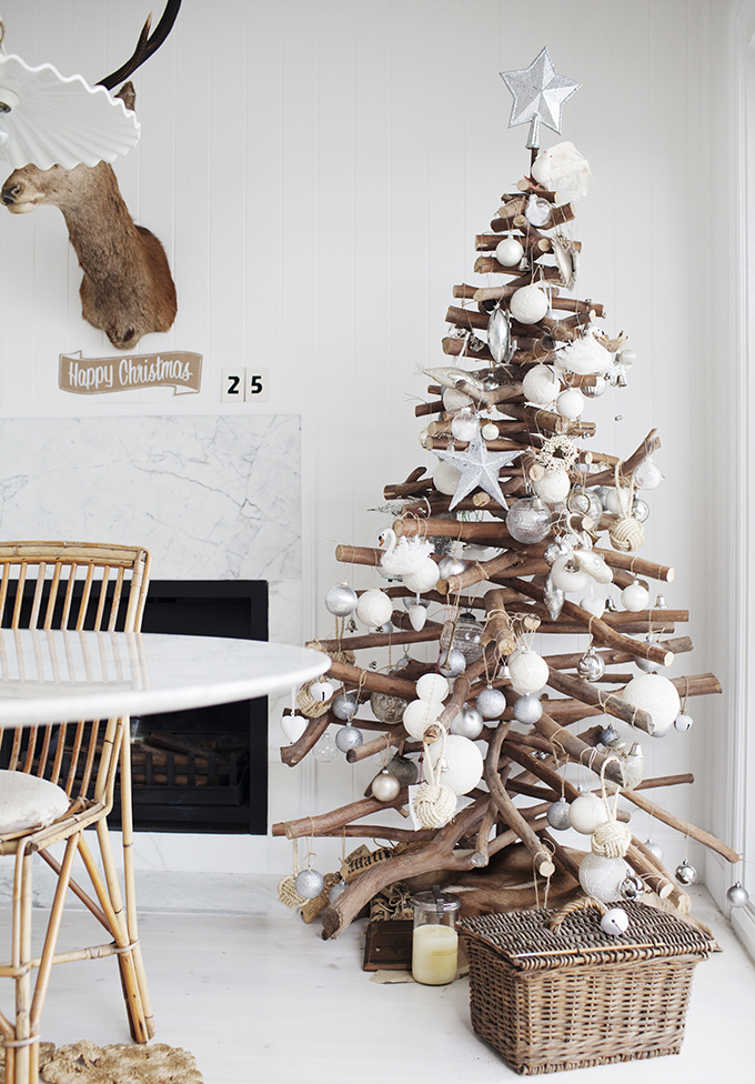 drift wood Christmas tree