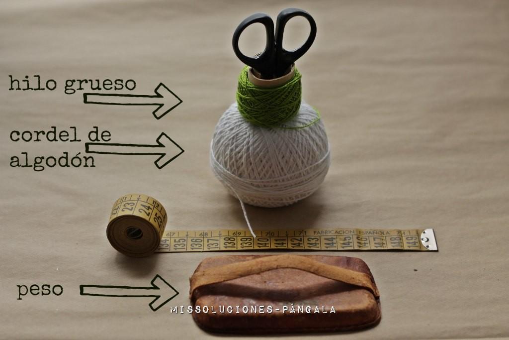 materiales para baker's twine casero
