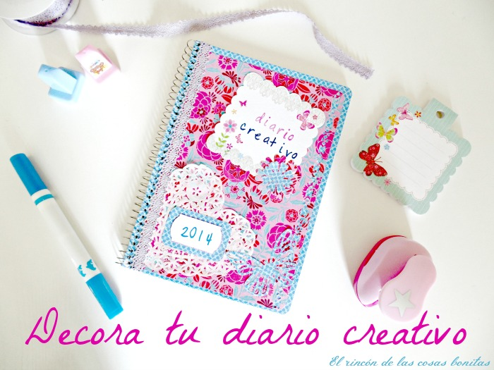 diario cuaderno decorado scrapbooking scrap