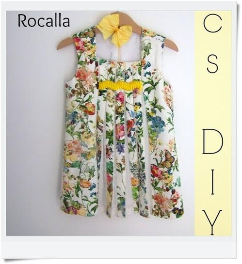 Vestido McsDIY ROCALLA mamá: ANTONIA