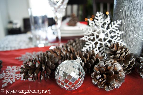 detalle camino de mesa Navidad | Casa Haus