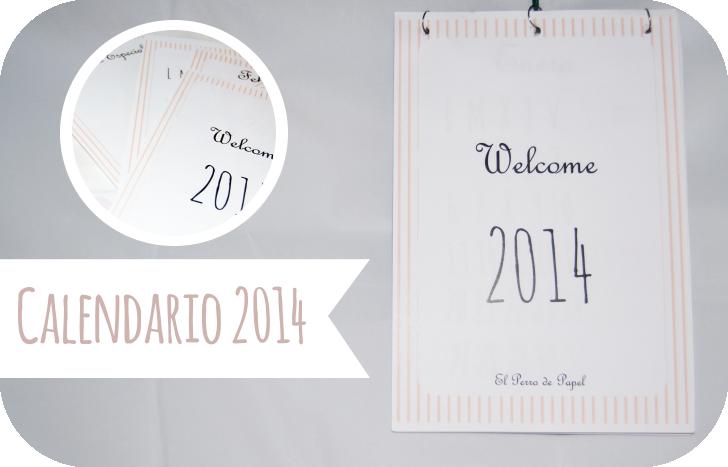 Calendario Imprimible 2014 DIY