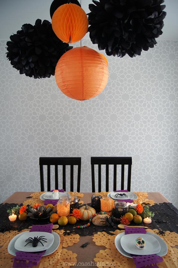 mesa dia de muertos y halloween | Casa Haus