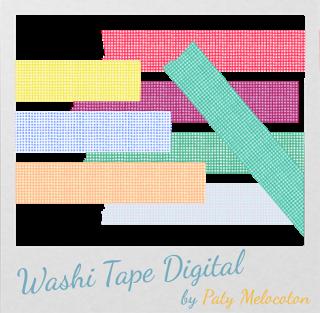 Washi Tape Digital Cuadros