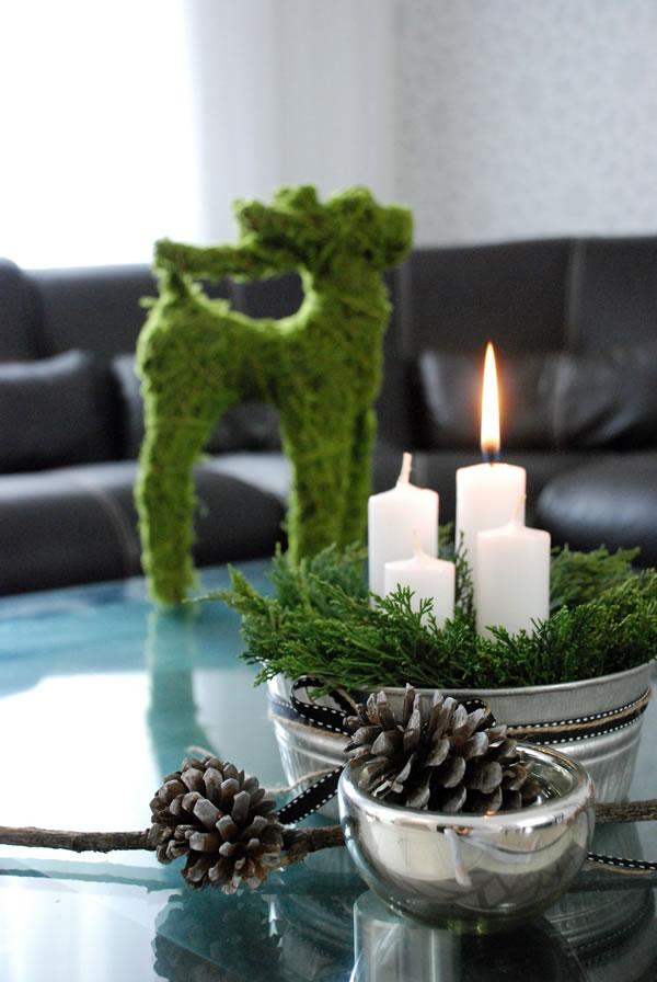 velas de adviento Navidad | Casa Haus