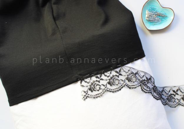 Plan B anna evers DIY Lingerie skirt step 5