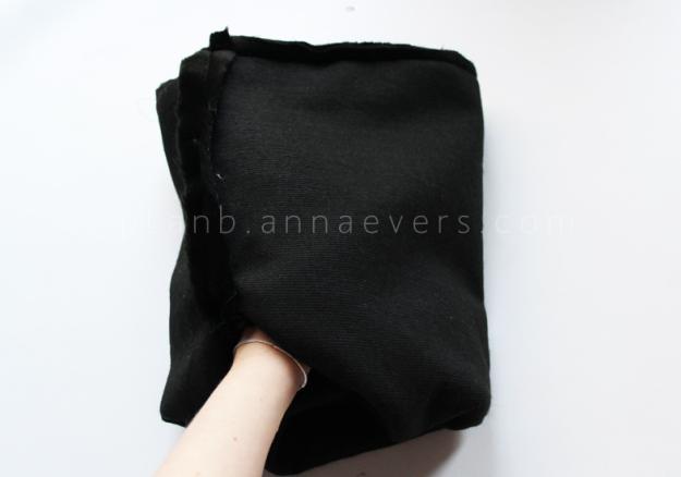 Plan B anna evers DIY Fur tube scarf step 4