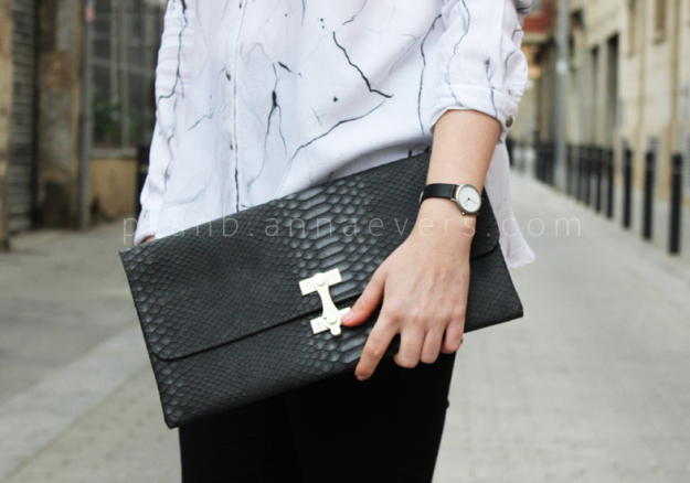 Plan B anna evers DIY Clutch with latch