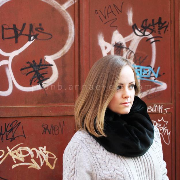 Plan B anna evers DIY Fur tube scarf DIY