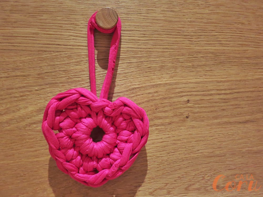 Corazón de trapillo - Handbox Craft Lovers | Comunidad DIY ...