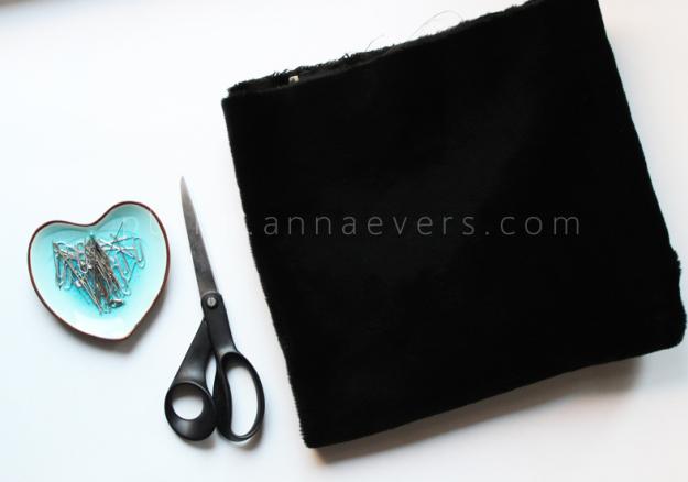 Plan B anna evers DIY Fur tube scarf materials