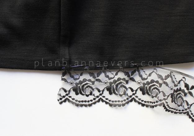 Plan B anna evers DIY Lingerie skirt step 4